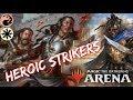 Heroic STRIKERS [MTG Arena] | Red-White Kwende First Strikers Deck in M19 Standard