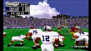NCAA GameBreaker 2001 (PS1) Penn State vs USC
