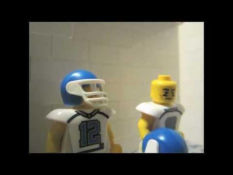 LEGO BRICKFILM The American Football Challenge - YouTube