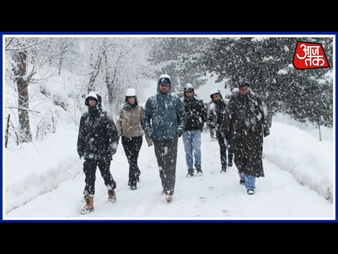 Fresh Snowfall And Rains In Jammu And Kashmir, Avalanche Warning Issued