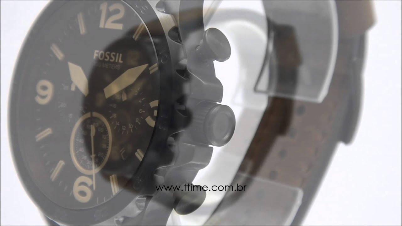 Relógio Fossil Nate JR1487/0MN