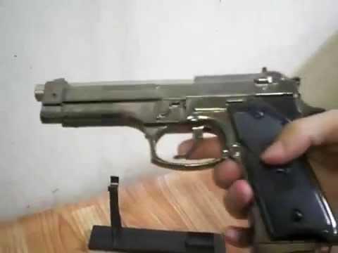 Пистолет-зажигалка сувенирная Beretta M 92 FS
