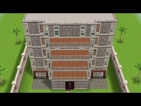 Movie Theater design preview (Sims freeplay)||felixcinan(5k)