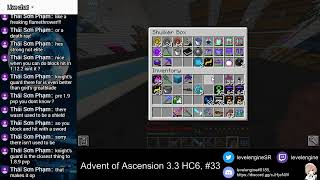 MINECRAFT Livestreams ~ Advent of Ascension 3.3 Hardcore ATTEMPT 6 (#33)