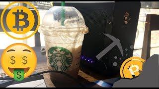 Mining at Starbucks With eGPU Aorus 1070 Gaming Box + Review