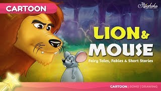 The Lion and the Mouse Kids Story | Bedtime Stories for Kids