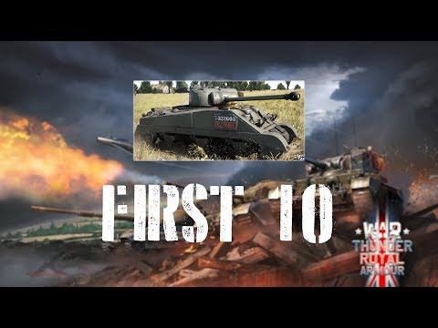 War Thunder First 10 - Sherman IC 2nd «Warsaw» Armoured Division