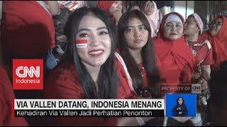 Via Vallen Datang, Timnas U-19 Indonesia Menang