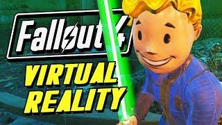 FALLOUT 4 VR JEDI Fallout 4 VR Funny Moments