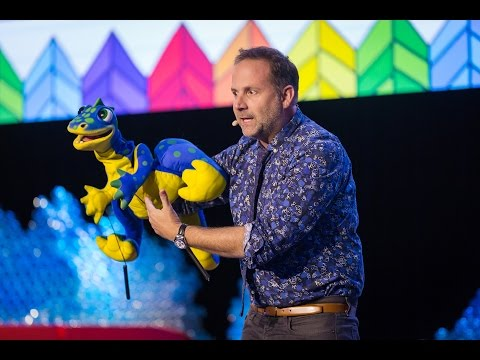Life lessons from a Sesame Street Puppeteer  Joey Mazzarino