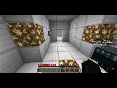 Minecraft The Dropper: Falling forward