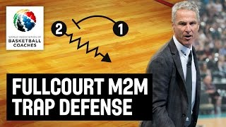 Full-Court Man to Man Trapping Defense - Dean Demopoulos - Basketball Fundamentals