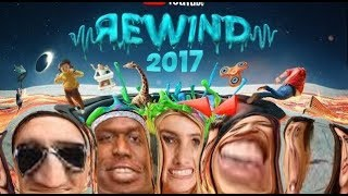 YouTube Rewind 2017 but only the good parts | #YouTubeRewind