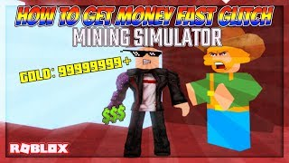 "NEUE INSANE SCHNELL GOLD /CASH ""ZWERG"" GLITCH!! (Bergbau-Simulator) 