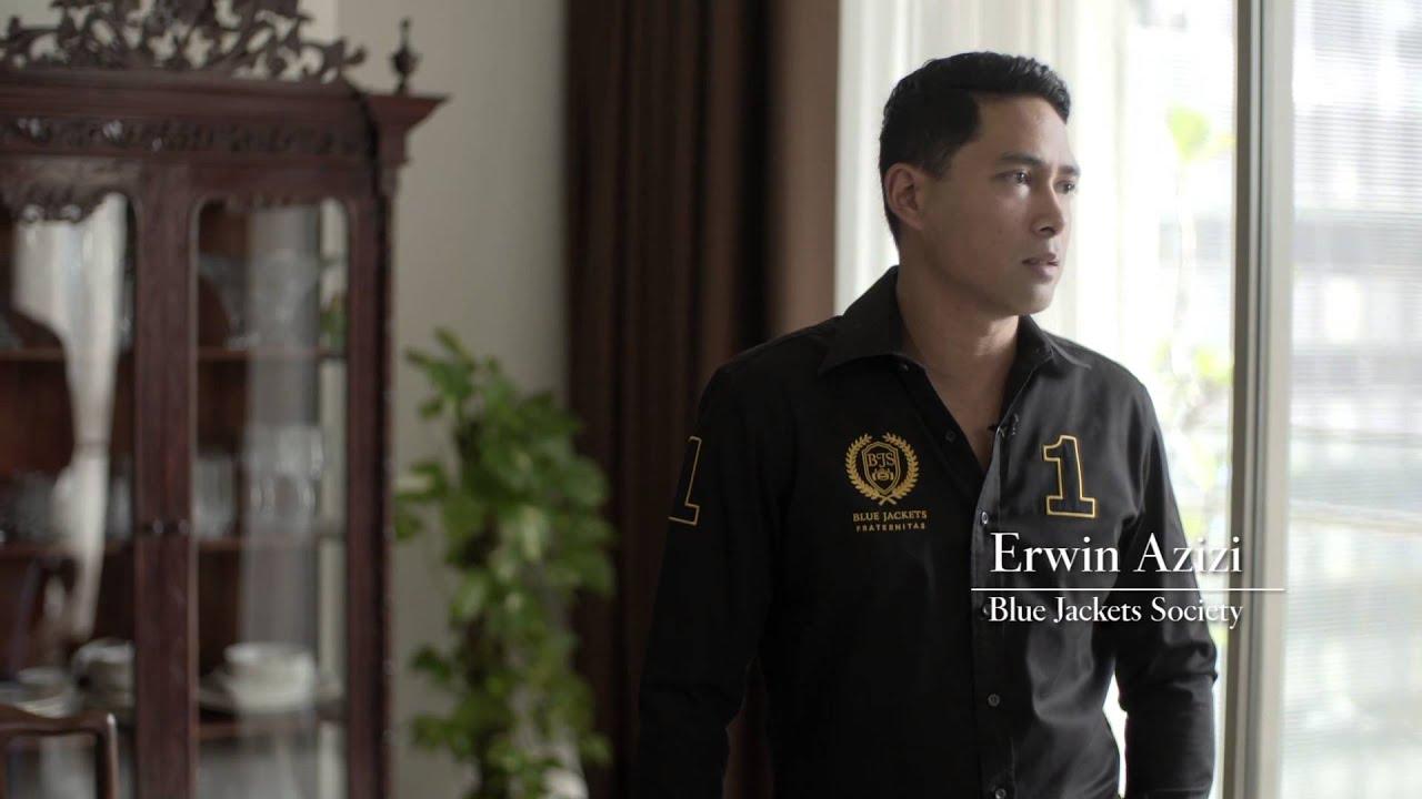 WeAreMalaysiaTatler: Erwin Azizi of Blue Jackets Society - YouTube