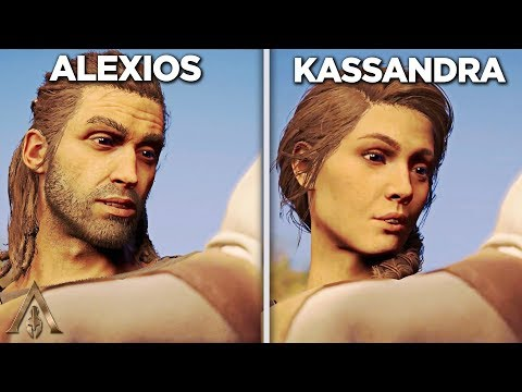 Alexios vs Kassadra's Baby (Comparison) - Assassin's Creed Odyssey thumbnail
