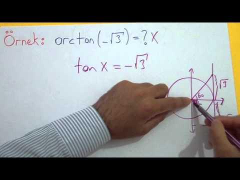 Trigonometri 9 (Arcters Trigonometrik) Şenol Hoca Matematik