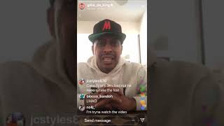 """""""You LOST, Your Flow Is OUTDATED!"""" Gillie Da Kid Responds To Cassidy"""