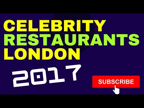 Top 10 Celebrity Chef Restaurants To Visit In London UK
