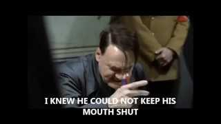 Hitler Finds Out Field Marshal Gruber Spilled the Beans