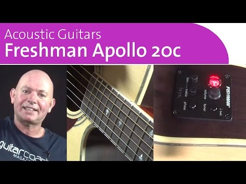 Freshman Guitars UK | Acoustic Guitar Review | Apollo 2OC