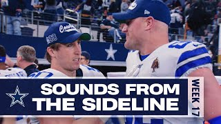 Cowboys Mic'd Up vs. Redskins 'You Killed Somebody.' | Sounds From The Sideline