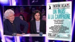 Alain Françon & Anouk Grinberg - On n'est pas couché 10 mars 2018 #ONPC