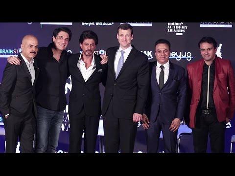 Shahrukh Khan LAUNCHES 'Indian Academy Awards' IAA 2017  Press Conference Shiamak Davar Choreography