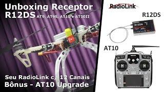 unboxing receptor r12ds seu radiolink com 12 canais