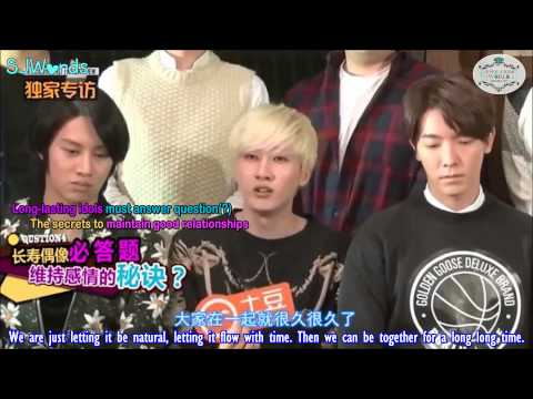 [ENGSUB] 150126 Tudou Exclusive Interview with Super Junior