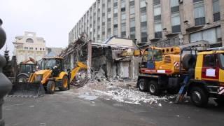 Торговый центр «Пирамида» сносят в Москве//РИАМО