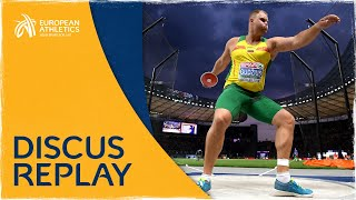 Men's Discus Final | Berlin 2018