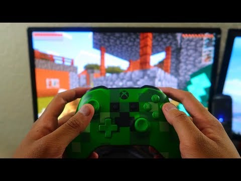 Playing the New Minecraft PE 1.2 Update on Xbox One!