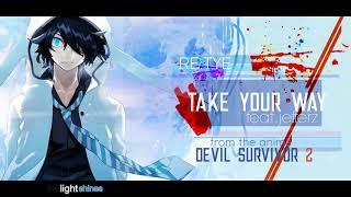 34 Take Your Way 34 English Devil Survivor 2 The Animation Op Feat Jefferz