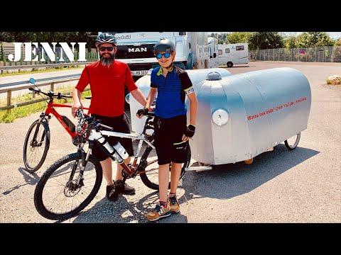 BIKE CAMPER   Part 3 (interior)      bicycle camper thumbnail