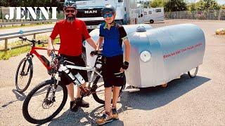 BIKE CAMPER   Part 3 (interior)      bicycle camper
