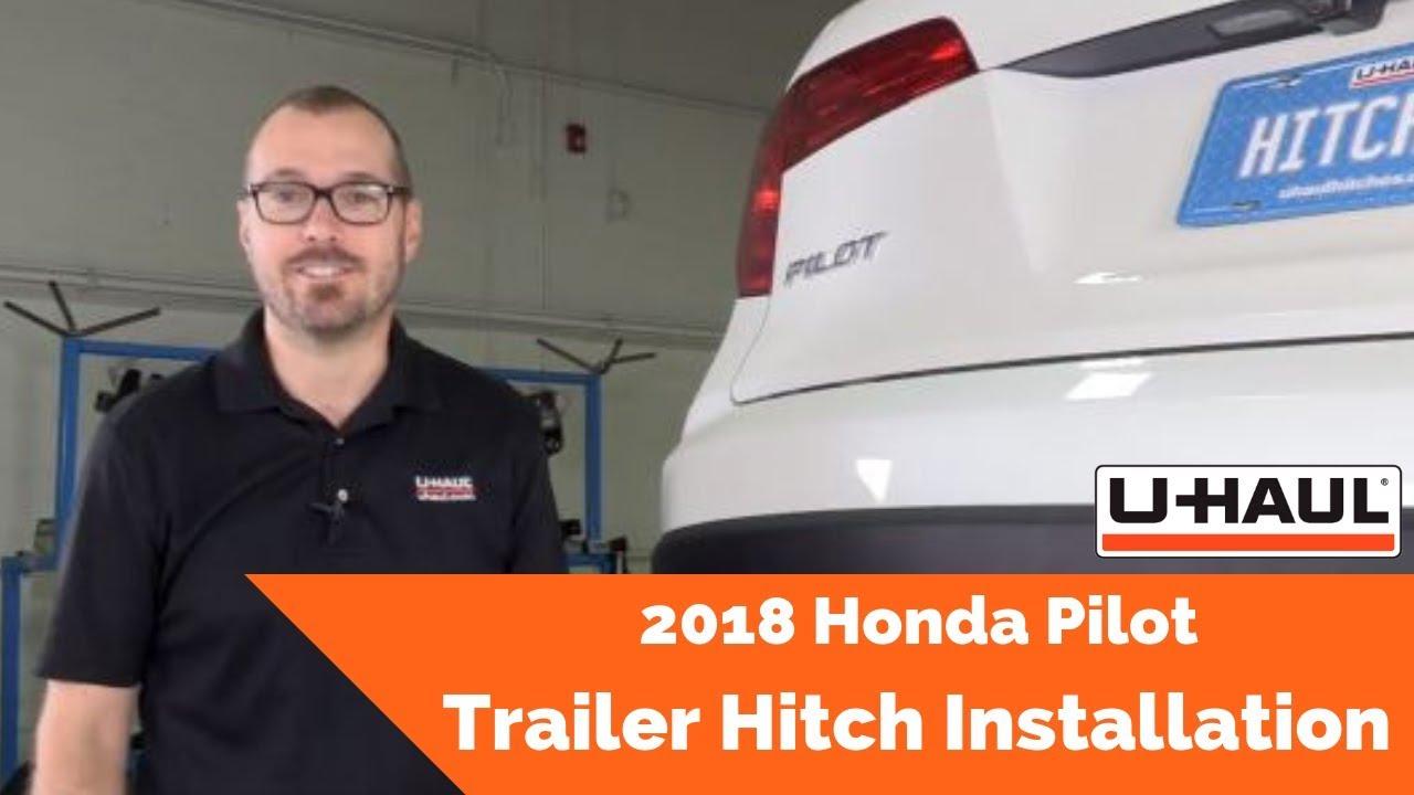 Draw Tite Hitch >> 2018 Honda Pilot Trailer Hitch Installation - YouTube