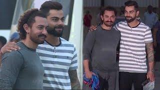 Aamir Khan & Virat Kohli Shooting For Secret Superstar