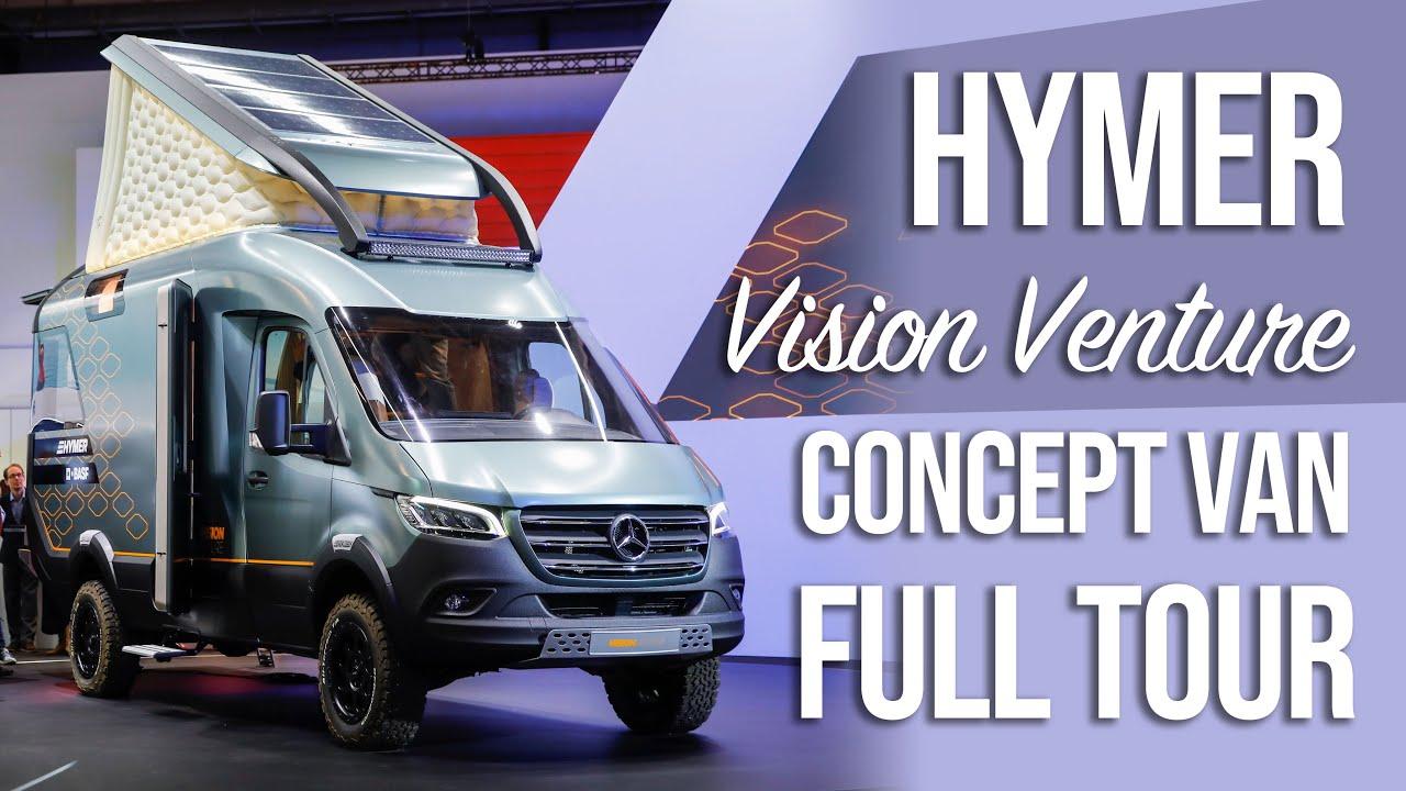 Van Tour - HYMER VisionVenture Sprinter 4x4 Concept:: Caravan Salon 2019