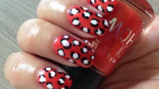 Easy Leopard Nail Art With Toothpick  | Beauty Intact Thumbnail