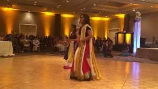 Adnan and Afzaa Indian Wedding Dance
