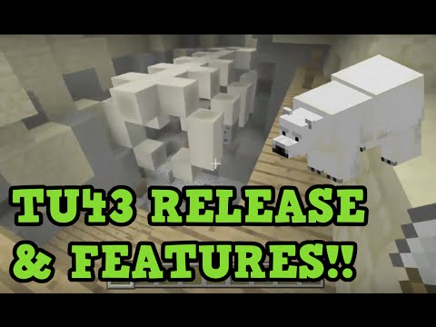 Minecraft Xbox 360 / PS3: TU43 Release Date + Features (1.10)