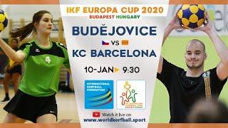 IKF ECup 2020 Ceské Budejovice (KCC SOKOL) - Barcelona KC