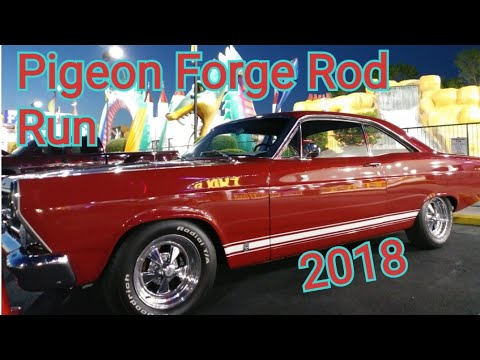 Spring Rod Run 2018 Evening in Pigeon Forge