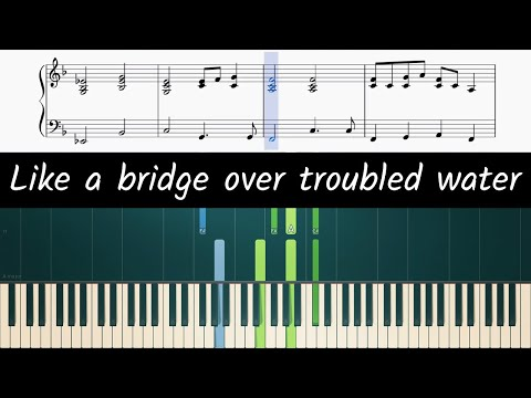 How To Play The Piano Part Of Bridge Over Troubled Water By Simon & Garfunkel