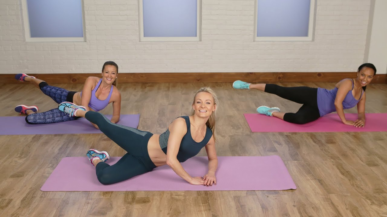 20-Minute Toning Workout For a Flat Belly | Class FitSugar