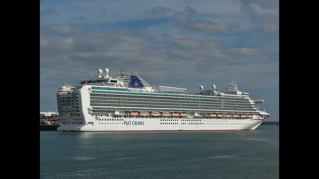 """Cruises From Southampton >> """"Azura"""" departs from Southampton on her Post-Refit Cruise ..."""