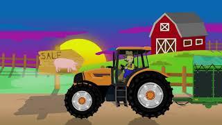 Buying Pigs - Farmer | Farm Works - Tractor | Prace Rolnika - Wyprawa po Świnie | Bajka Traktor