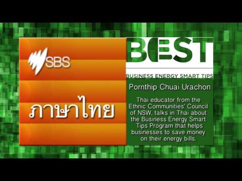 SBS radio, Thai. Free advice for Businesses on how to cut costs.