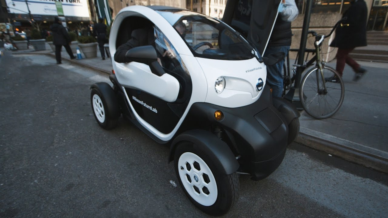The Nissan New Mobility Concept is an adorable electric car